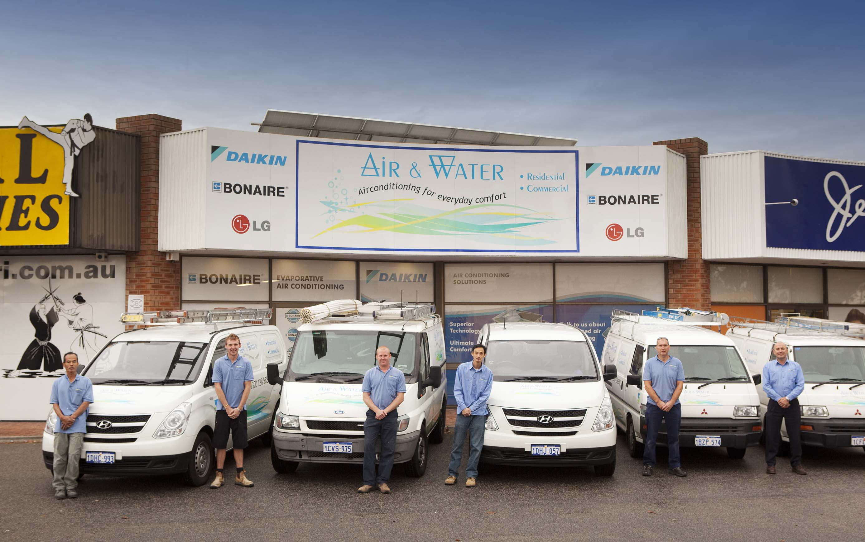 air conditioning installation & services perth | air and water
