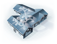 Daikin Ducted House