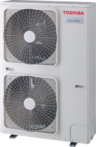 Toshiba air conditioner outdoor unit